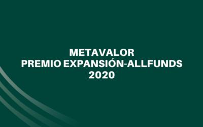 Metavalor FI, Premio Expansión-Allfunds 2020
