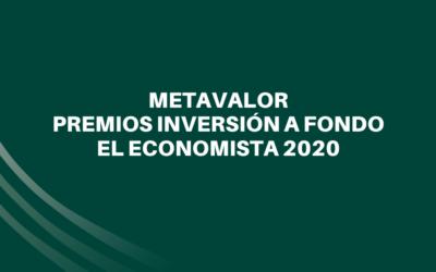 Metavalor FI, Premio El Economista 2020